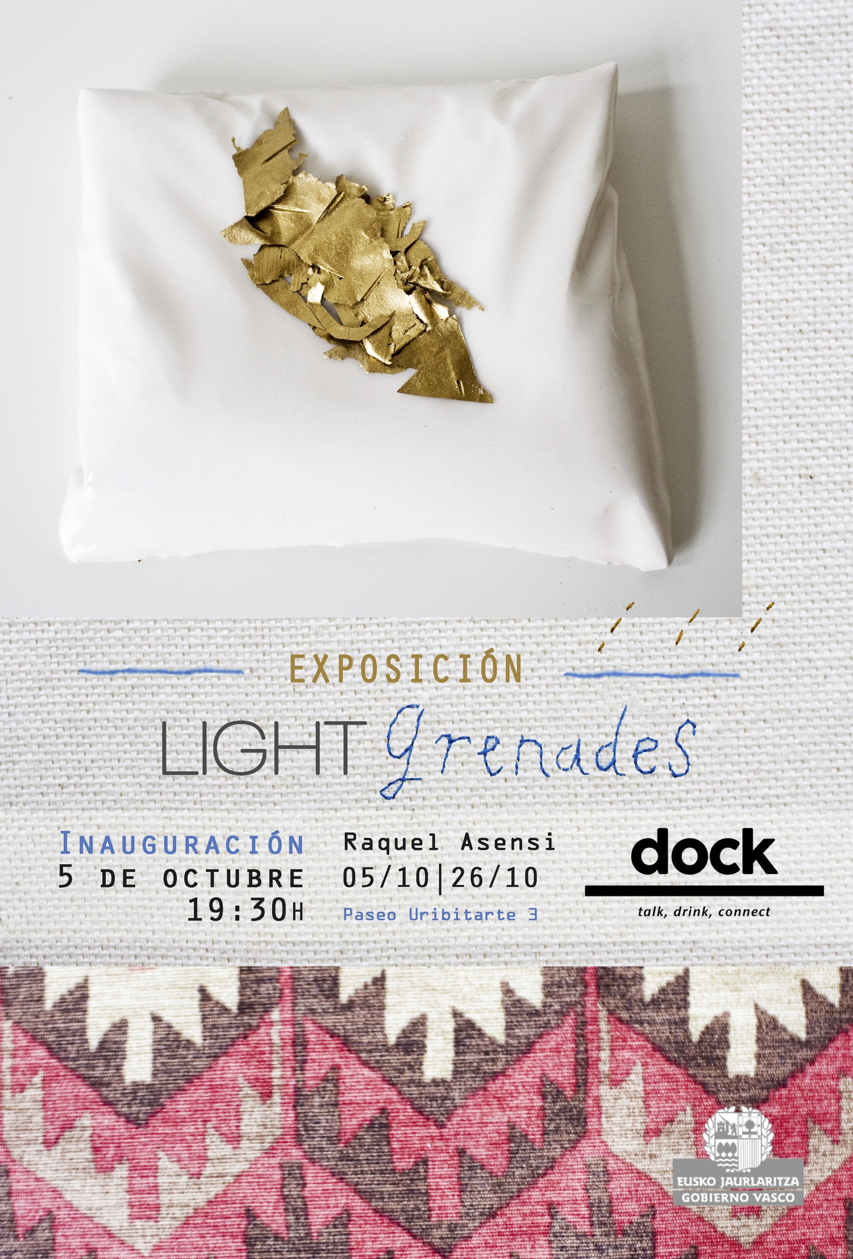 Exposición Granadas de Luz | Light Grenades